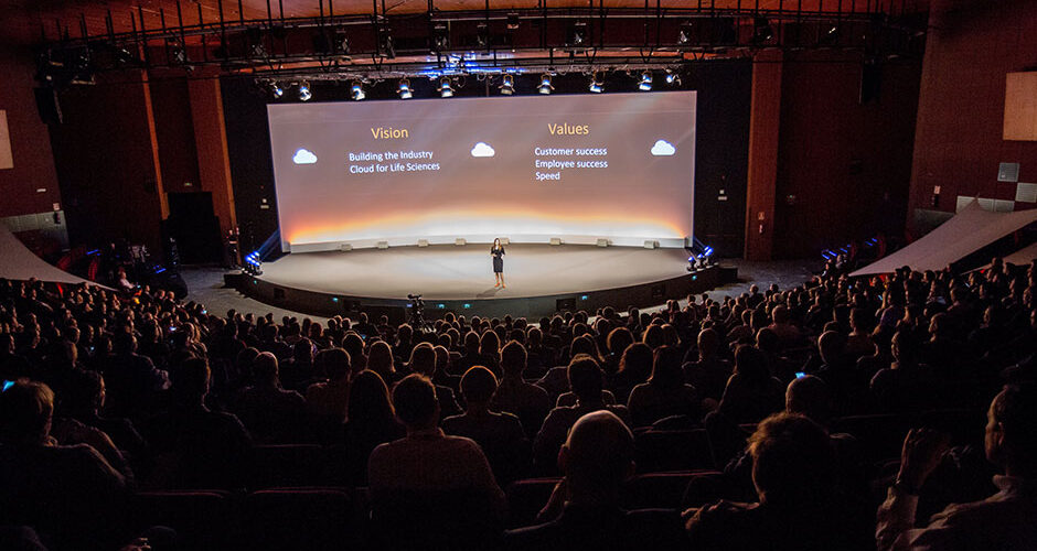 2016 Veeva European Commercial Summit end to end event management