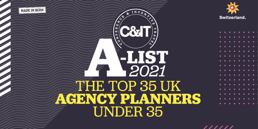 C&IT A-List 2021 The Top 35 UK Agency Planners Under 35 banner